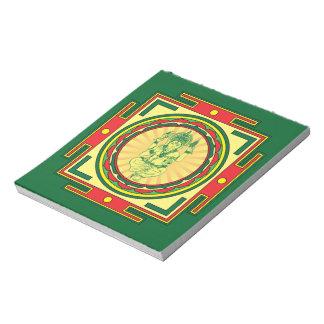 Bloco De Anotação Mandala de Ganesha