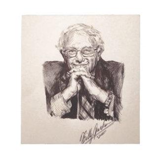 Bloco De Anotação Máquinas de lixar de Bernie por Billy Jackson