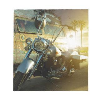 Bloco De Anotação motocicleta