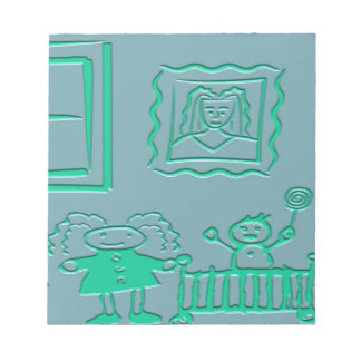 Bloco De Anotação páginas da almofada de nota 5.5x6 40