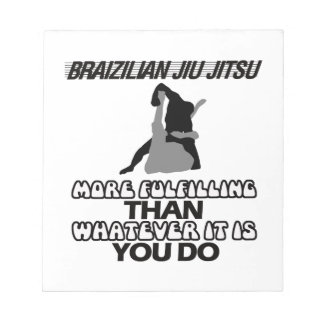 Bloco De Anotação Tendendo o DESIGN de Jiu Jitsu