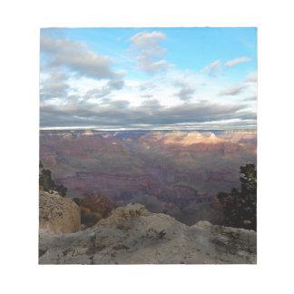 Bloco De Anotação Vista panorâmica do Grand Canyon