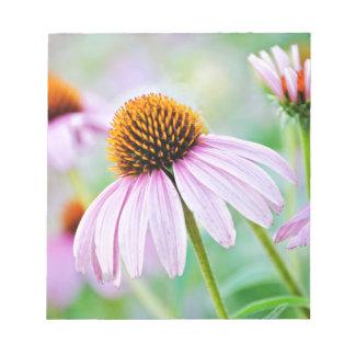 Bloco De Anotação Wildflowers roxos
