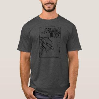 Bloco de desenho de Cheryl - preto Camiseta