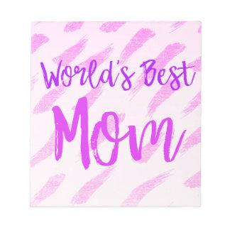 Bloco De Notas A melhor mamã do mundo