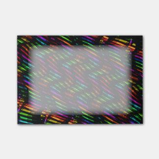 Bloco De Notas A onda torce trabalhos de arte quentes do mosaico