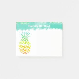 Bloco De Notas Almofada de nota personalizada abacaxi