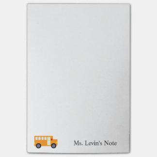 Bloco de notas amarelo bonito feito sob encomenda sticky notes