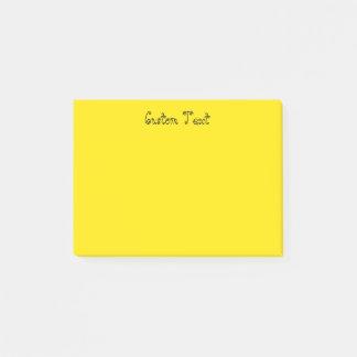 Bloco De Notas Amarelo brilhante feito sob encomenda