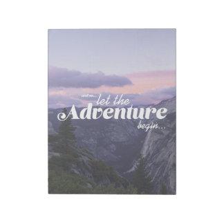 Bloco De Notas and assim… bloco de rascunho the adventure let