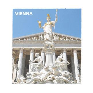 Bloco De Notas Arquitetura em Viena, Áustria