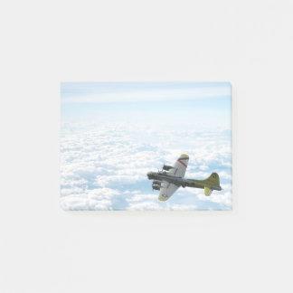 Bloco De Notas Avião do bombardeiro da fortaleza WWII do vôo B17
