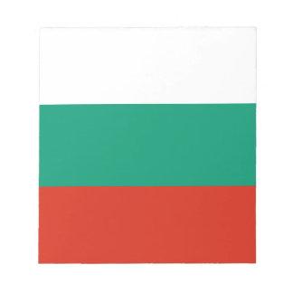 Bloco De Notas Bandeira búlgara patriótica