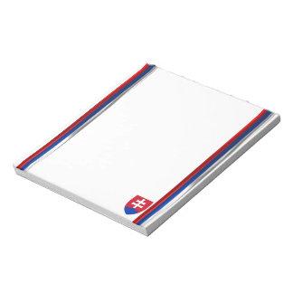 Bloco De Notas Bandeira de Slovakia
