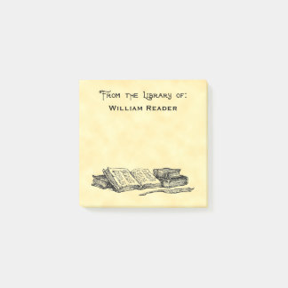 Bloco De Notas Biblioteca feita sob encomenda de livros do