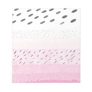 Bloco De Notas Bolinhas do rosa Pastel