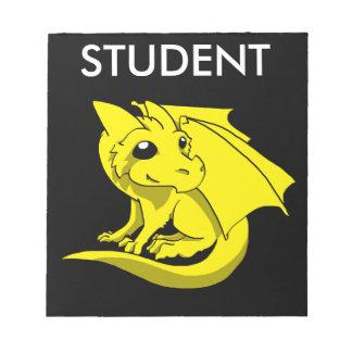 Bloco De Notas Caderno do dragão de Chibi