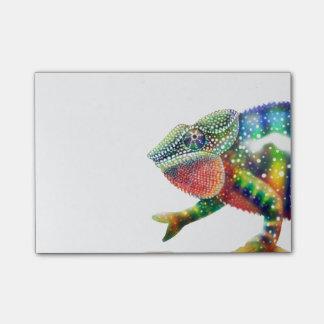 Bloco De Notas Camaleão colorido da pantera