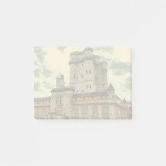 Bloco De Notas Castelo de Vincennes, pintura de Paris