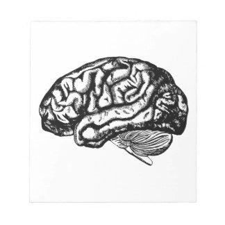 Bloco De Notas cérebro humano