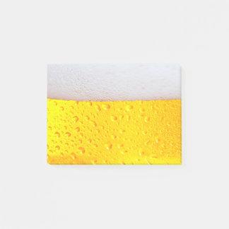 Bloco De Notas Cerveja realística
