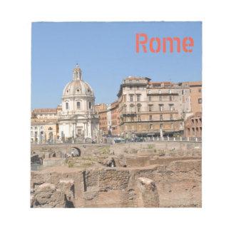 Bloco De Notas Cidade antiga de Roma, Italia