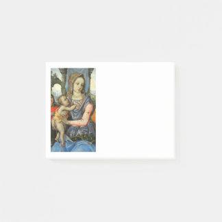 Bloco De Notas Criança St Joseph do cristo de Madonna e anjo