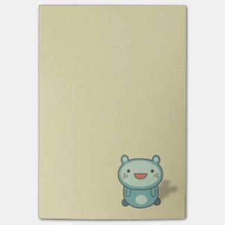 Bloco De Notas Criatura pequena bonito do urso