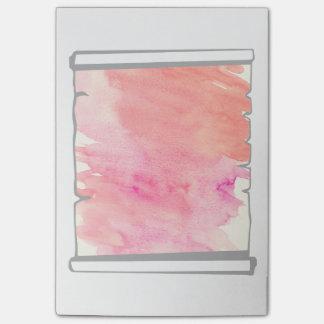 Bloco De Notas Divertimento cor-de-rosa de Scrapbooking do rolo