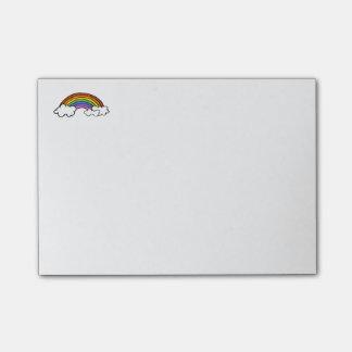 Bloco de notas do arco-íris