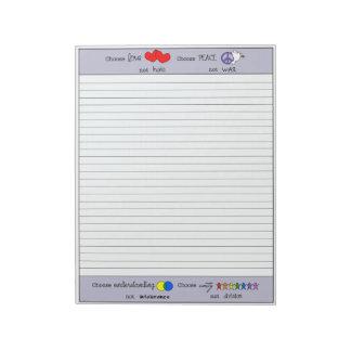 Bloco De Notas Escolha (1) notas