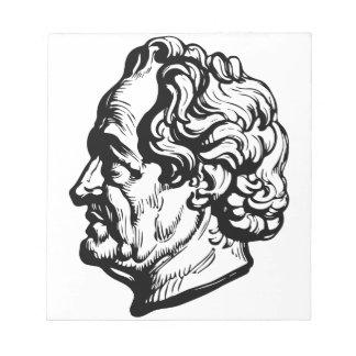 Bloco De Notas Escritor alemão Goethe