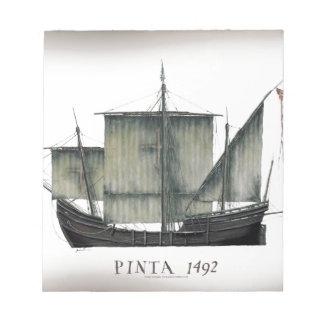 Bloco De Notas Fernandes 1492 tony de Pinta