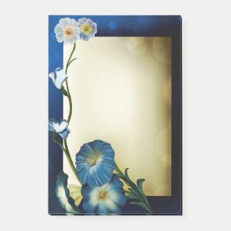 Bloco De Notas Flores