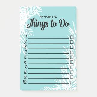 Bloco De Notas Folhas brancas numeradas caixa de seleção para
