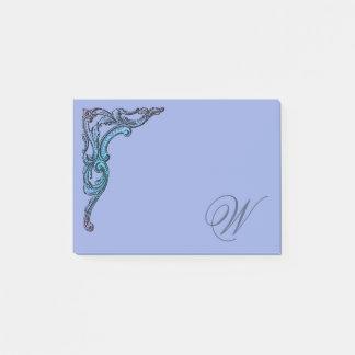 Bloco De Notas Gótico Pastel romântico de Steampunk personalizado