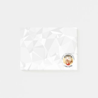 Bloco De Notas HammyVille - hamster bonito com citações