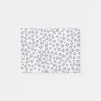Bloco De Notas Impressão do leopardo do gelo