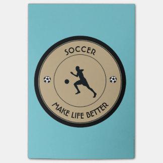 Bloco De Notas Jogador de futebol