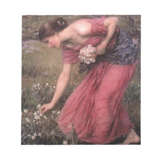 Bloco De Notas John William Waterhouse - narciso - belas artes