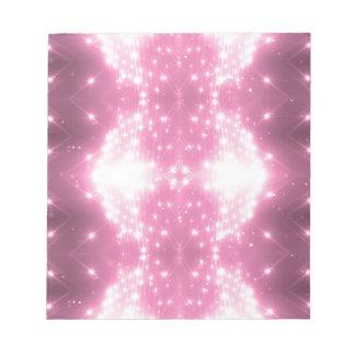 Bloco De Notas Kaleidosope Sparkling cor-de-rosa