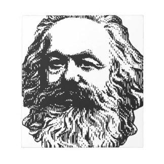 Bloco De Notas Karl Marx - comunismo
