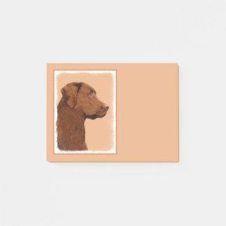 Bloco De Notas Labrador retriever (chocolate)