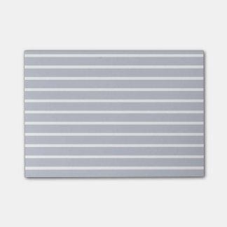 Bloco De Notas Limpe linhas paralelas luz das listras - cinza