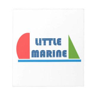Bloco De Notas little marina