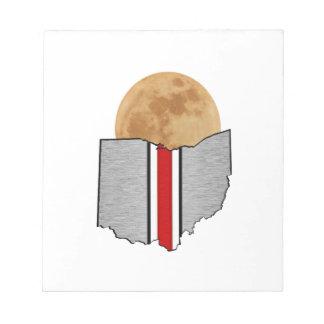 Bloco De Notas Luar de Ohio