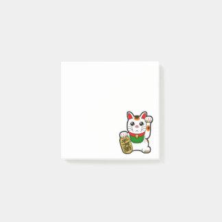 Bloco De Notas Maneki Neko: Gato afortunado japonês
