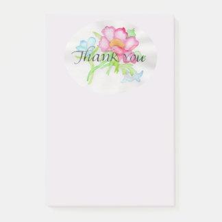 Bloco De Notas Mini buquê floral TY do rosa selvagem cor-de-rosa