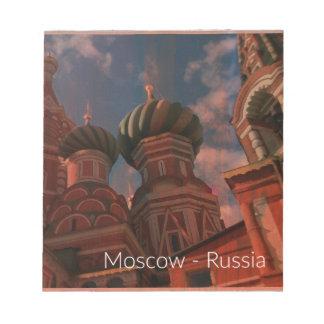 Bloco De Notas Moscow_russia