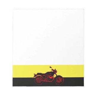 Bloco De Notas Motocicleta